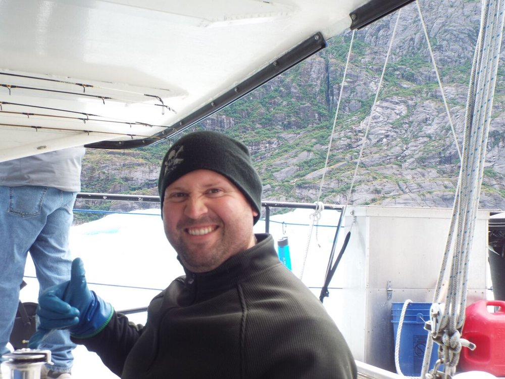Captain Louis Hooke (Hook) - Alaskan Adventure Sailing