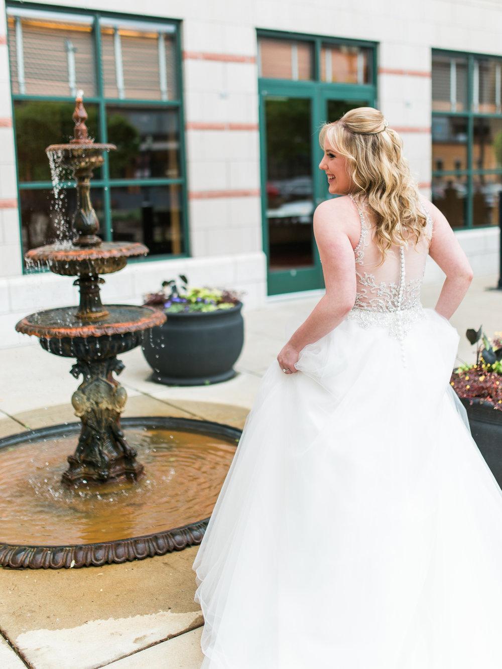 bridal portrait in Minneapolis, MN