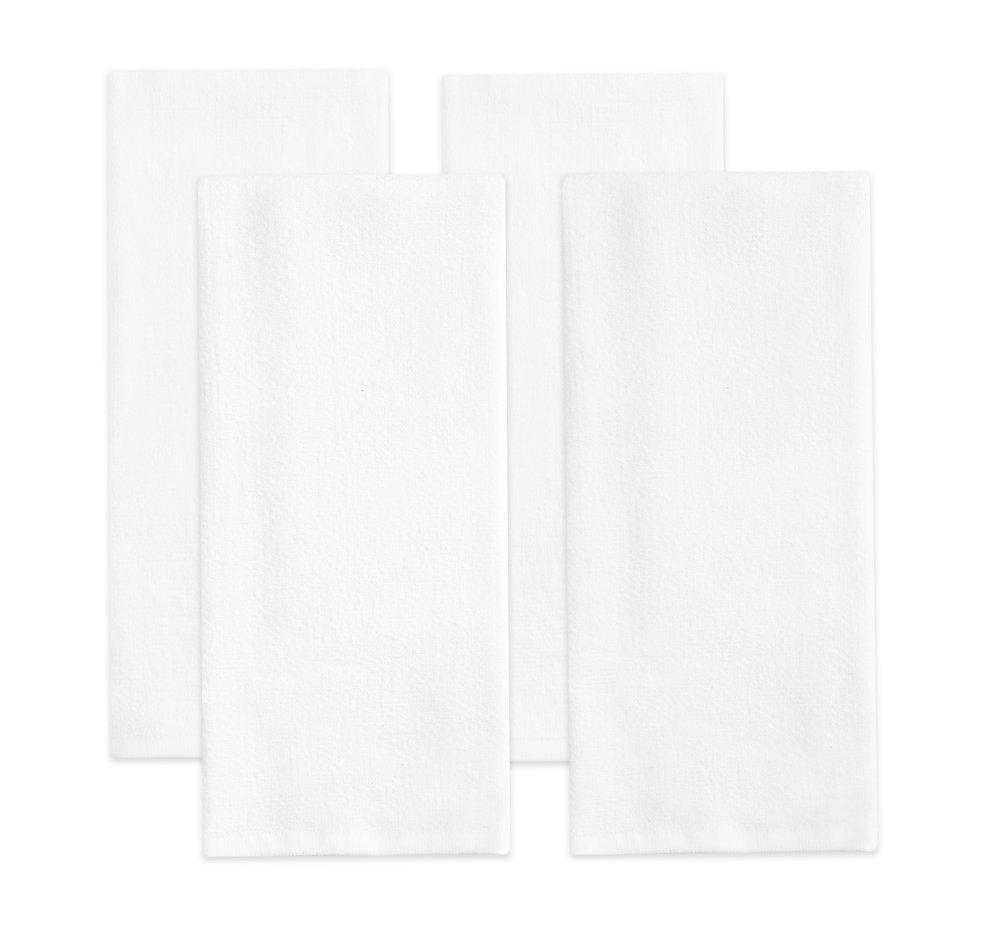 Orange Kitchen Towels, Pack Of 4