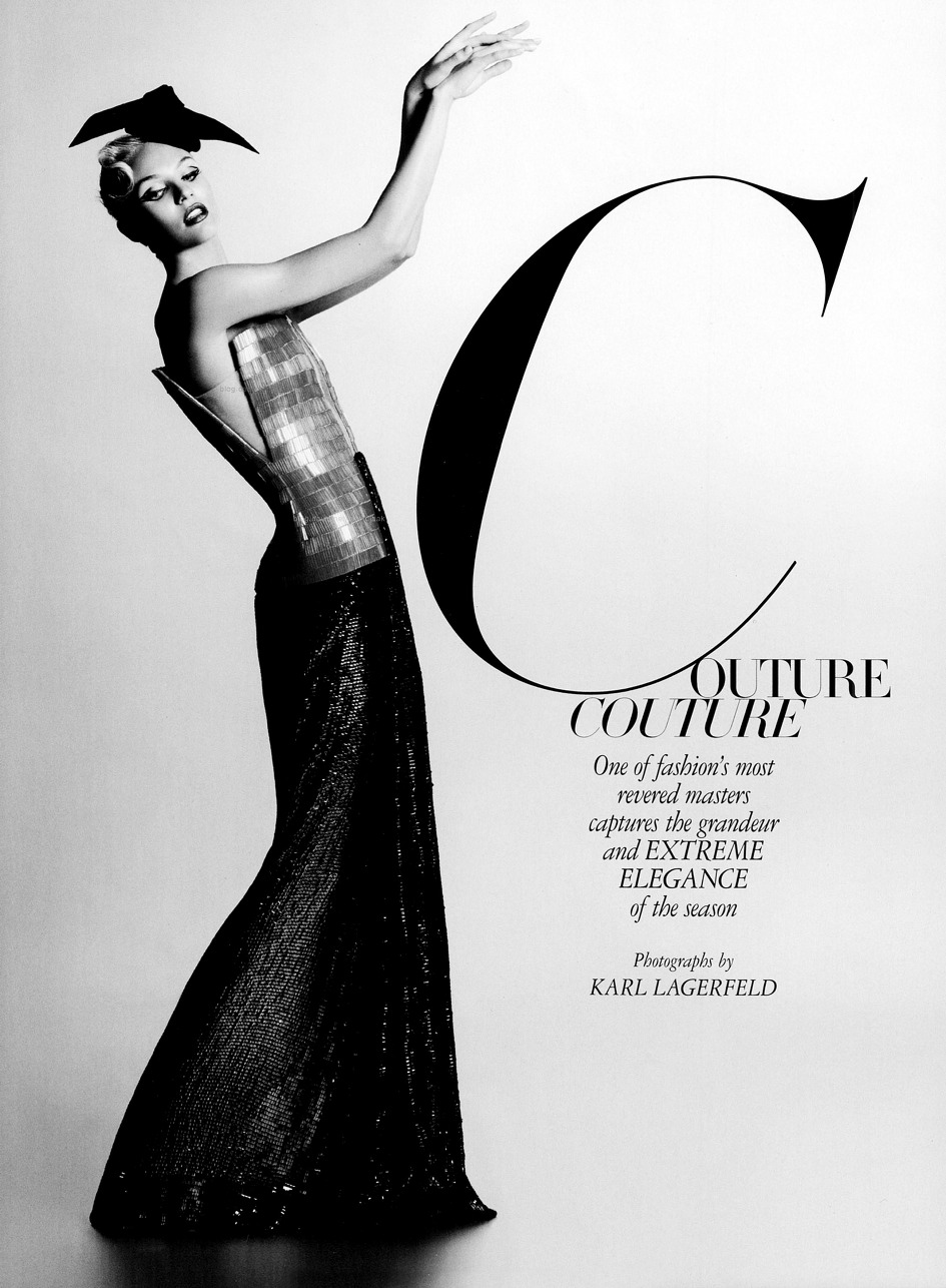 Candice Swanepoel Couture Couture editorial Harpers Bazaar US October 2011
