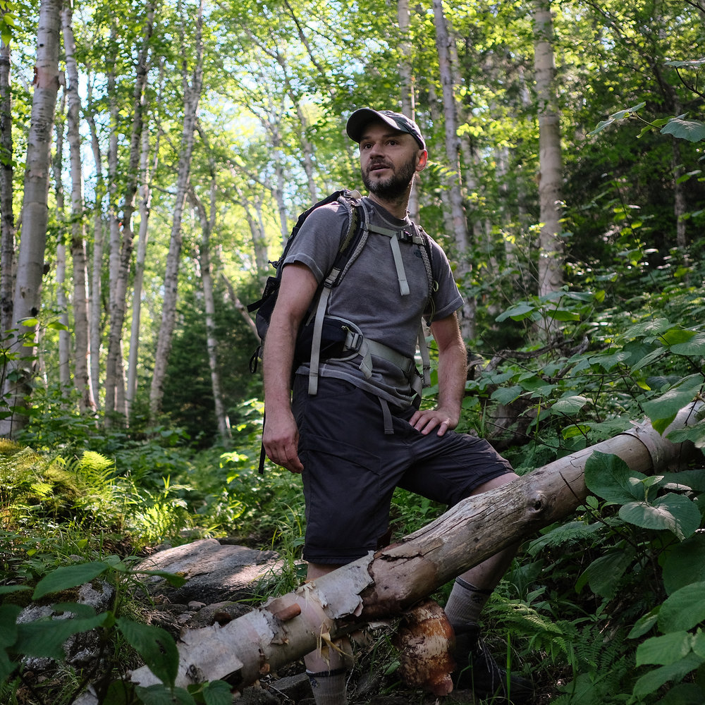 NHPR: Finding Quiet in the White Mountains is Hard to Do, But One Man's Trying to Crack the Code    Dennis Follensbee is on a quest to find the quietest spots in the White Mountains.