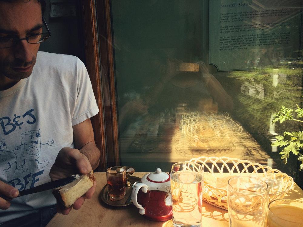 Byblos Café. Brunch delicioso.