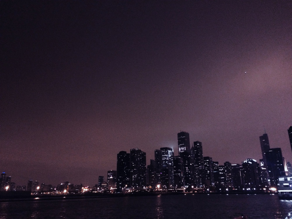 Chicago Skyline. Hermoso.