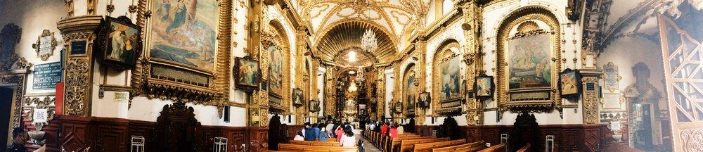 Iglesia de la Virgen de Ocotlán en Tlaxcala. Impresionante.