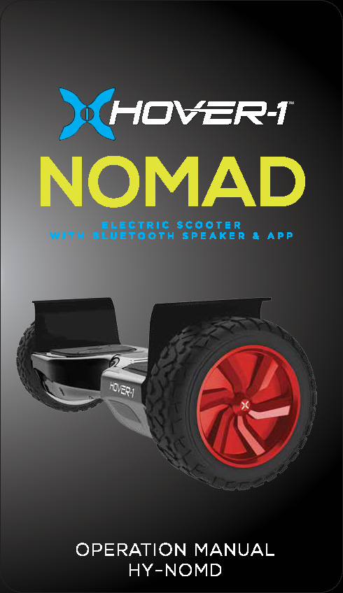 Nomad Operation Manual