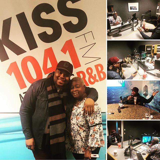 "Thank you so much Ms. Twanda Black and @kiss1041fm for having me today! ""Ms.T"", you are one of the sweetest, chilled, humble, down to earth people i have ever met or interviewed with. Thank you for being such a great supporter and thank you for just being YOU!! Soooooo much love to you! ❤️"
