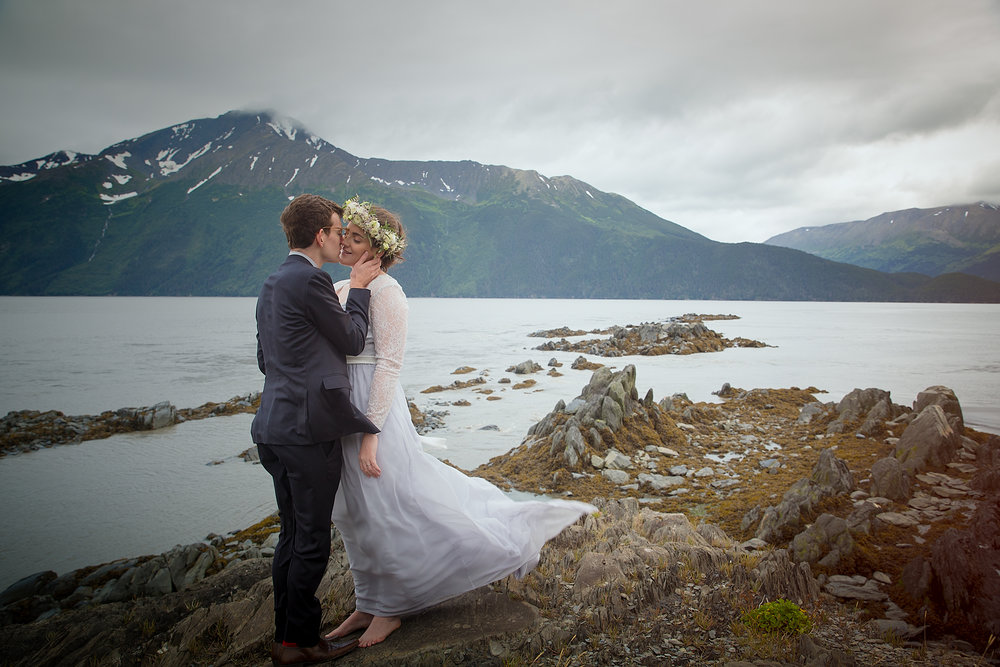 Just outside of Anchorage, this is a stunning spot we know you will love!