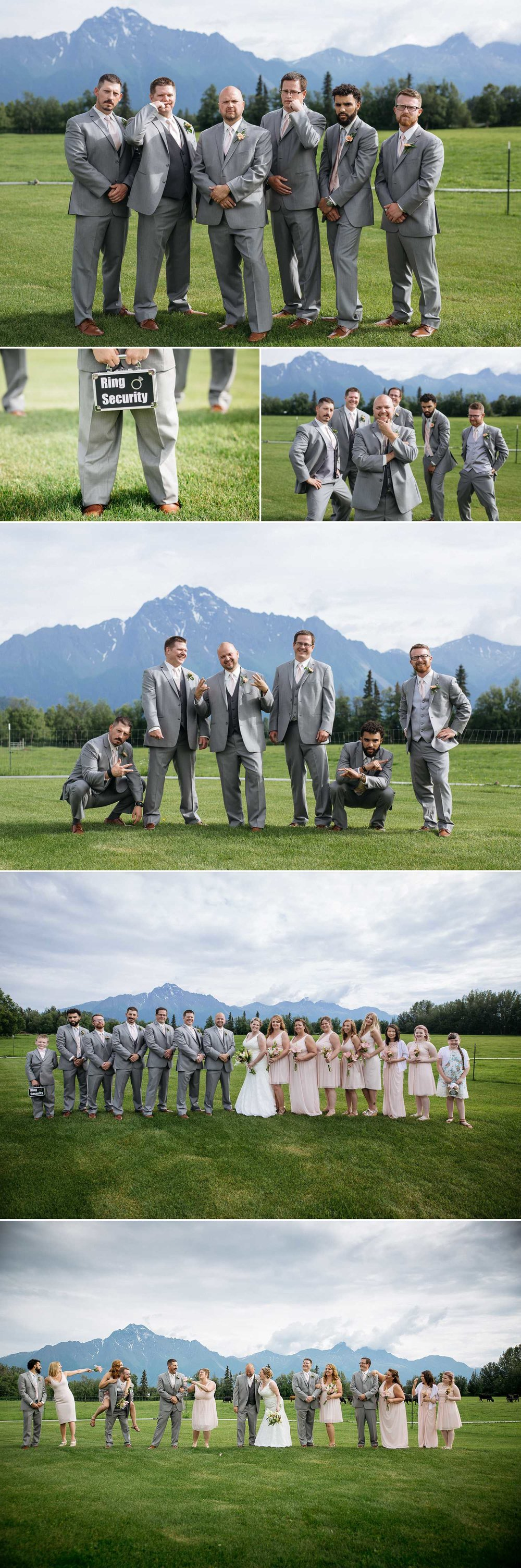 Turney Wedding Party