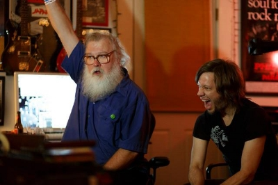 R.Stevie Moore and Jason during the Make It Be sessions