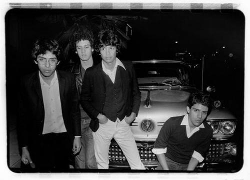 The Zeros (L-R): Hector Penalosa, Baba Chenelle, Javier Escovedo, Robert Lopez