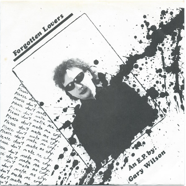 gary wilson forgotten lovers ep back cover insert weirdo music forever