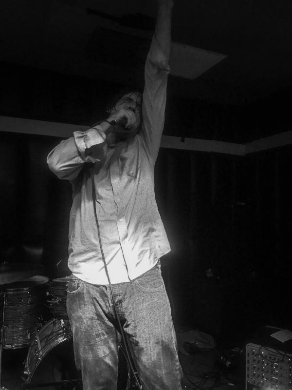 John Maus at the Soda Bar in San Diego, 2017. Photo: WMF