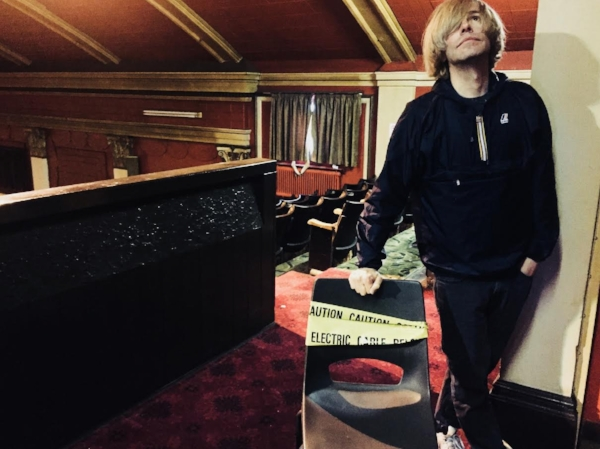 Tim Burgess, 2018. Photo: Nik Void