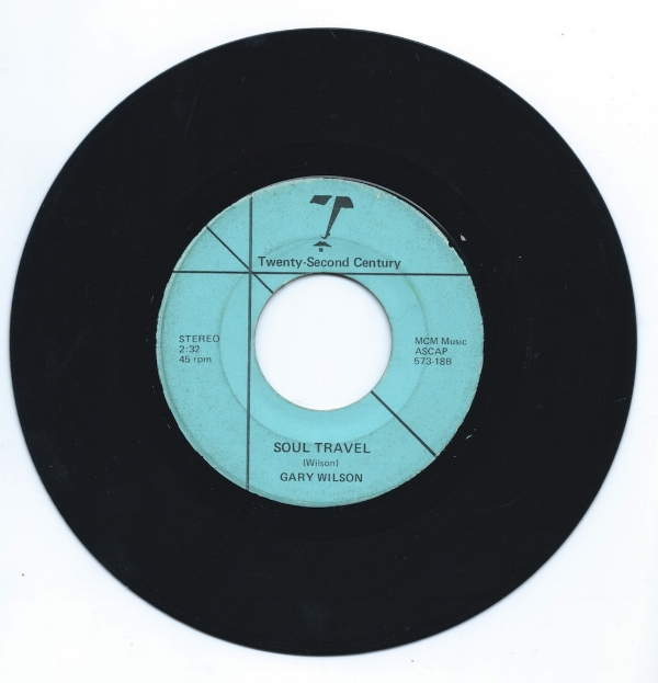 "WMF's copy of the ""Dream(s) / ""Soul Travel"" 45"