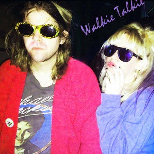 "Ariel Pink and Dexy Valentine's ""Walkie Talkie"" can be  heard on Soundcloud"