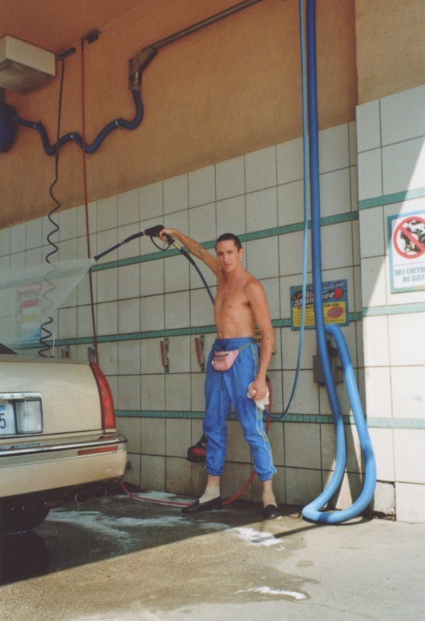 Kirin J. Callinan and his 1994 Cadillac Eldorado. Photo: Miriam Marlene Waldner