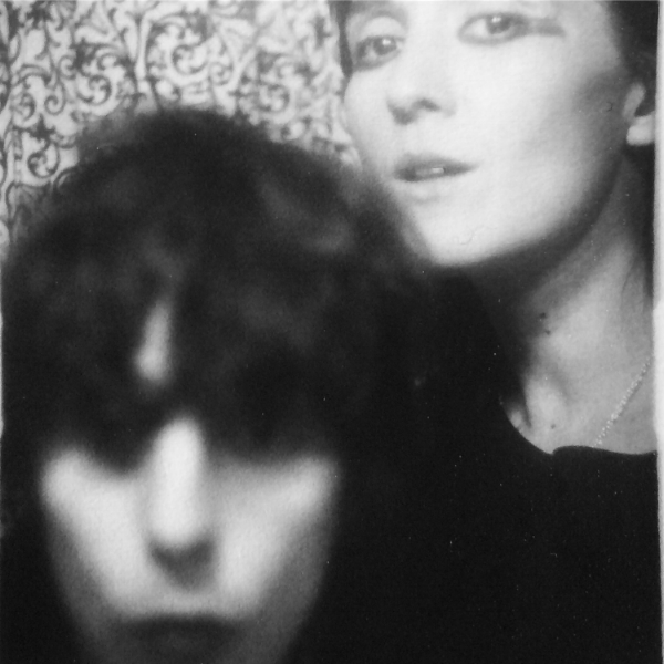 DRINKS in a photo booth. Photo: Cate Le Bon and Tim Presley
