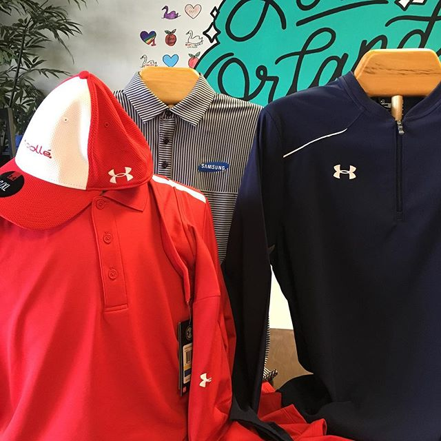 We offer a full line of Under Armour products for your business. Our customers love the comfort and value. Let us help you promote your business today!  Contact sue@gobigmarketing.com #promotionalproducts #underarmour #branding