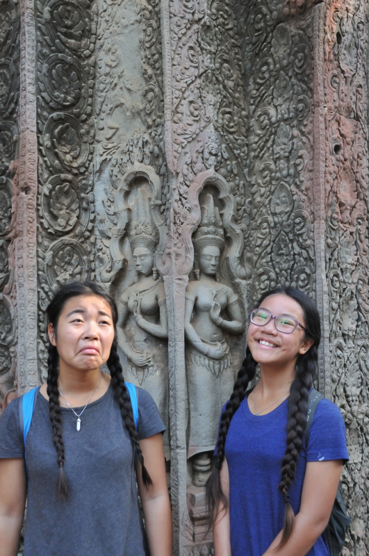 I Think They're Buddhas ;/ They could be Myka and I as well. Idk.