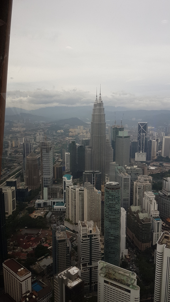 In Level with the Petronas Towers