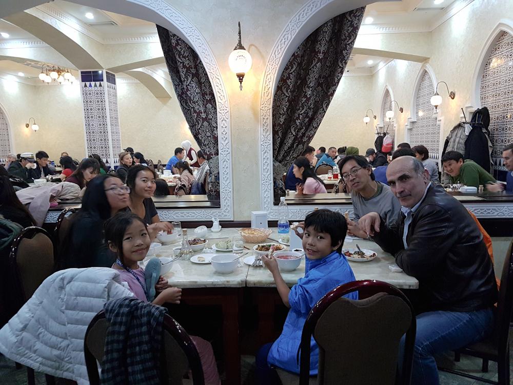 Kazakh food for dinner!
