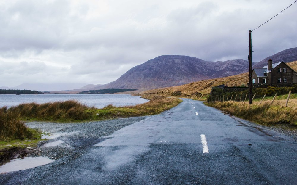 The Road to Connemara, Ireland.