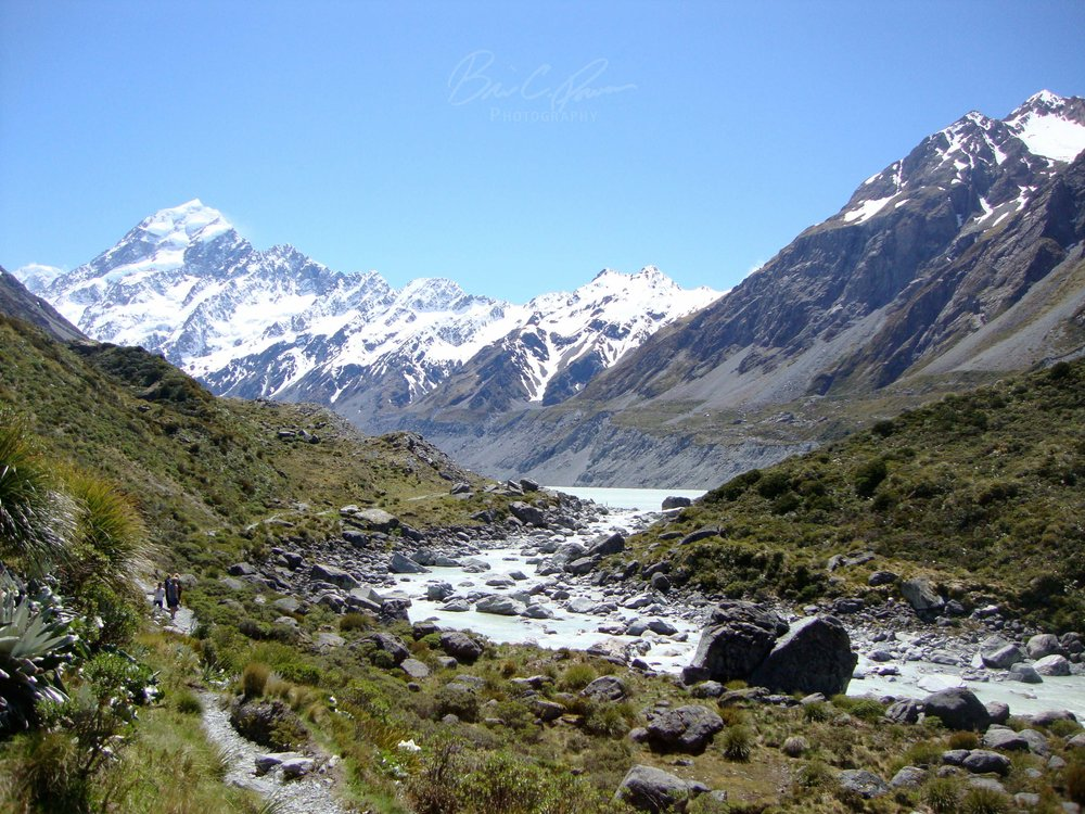 Hooker Valley Aoraki/Mt. Cook National Park