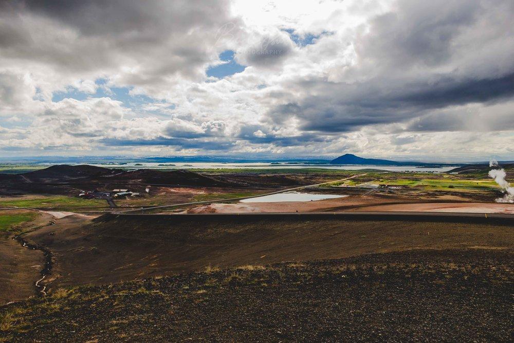 Mývatn, Iceland.