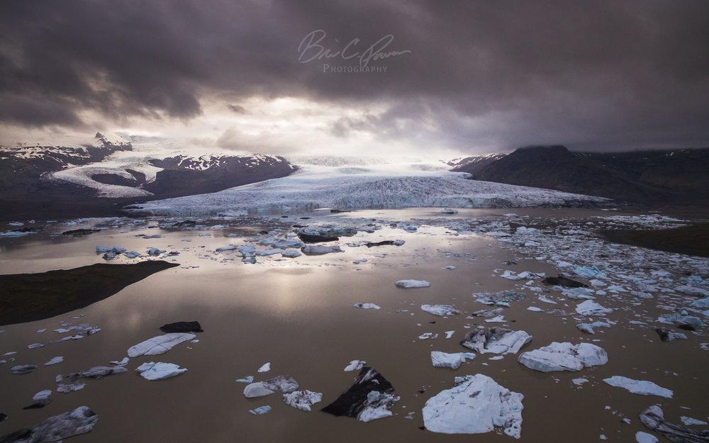 Fjallsárlón Glacier Lagoon, Iceland.