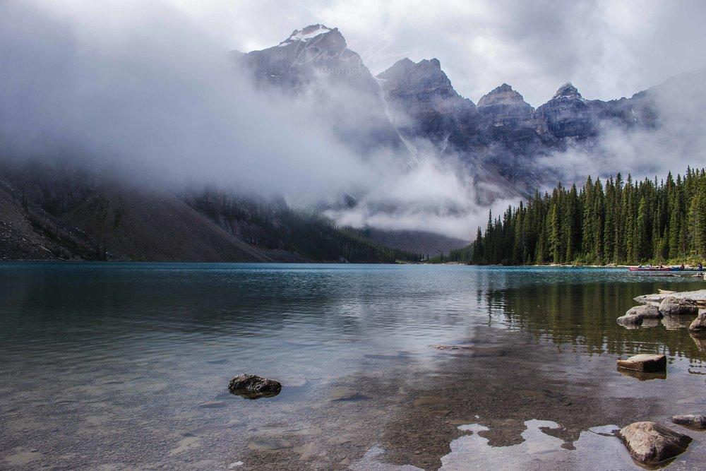 Reflection - Moraine Lake, Banff National Park