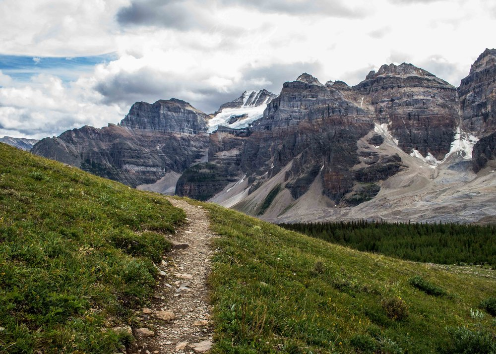 Valley of the Ten Peaks Hike, Banff National Park, Canada