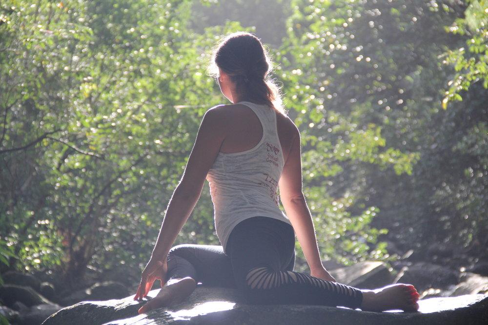 Barbara Alfonzo Yin Yoga
