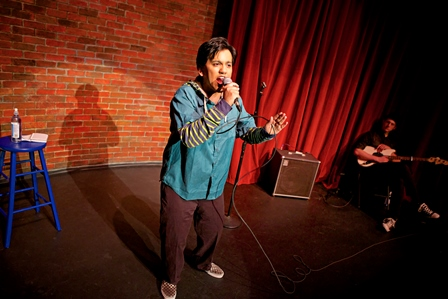 Brahman/i: A One-Hijra Stand-Up Comedy Show , Crowded Fire Theater Photo by Pak Han