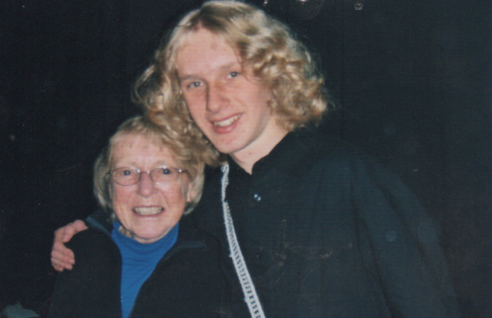 Pat and her grandson, Jamie Lent.