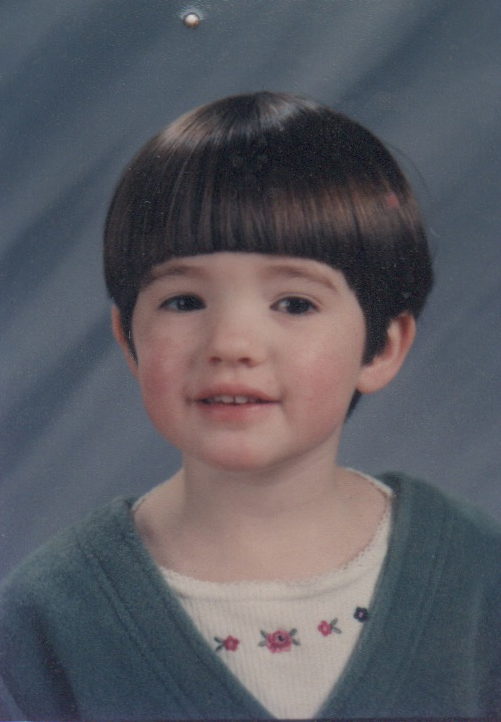 Cailin Kennedy, age 5, November 1997.