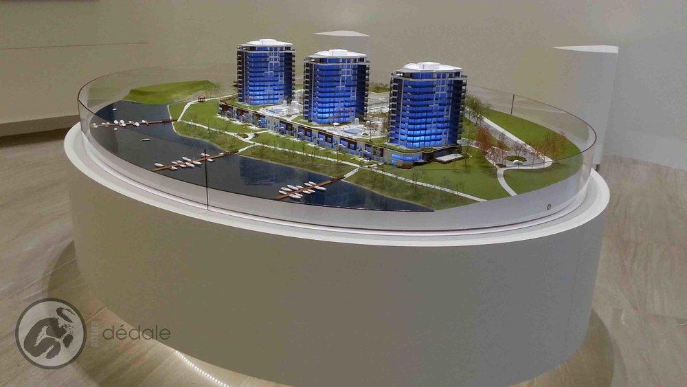 Aquablue project architectural models
