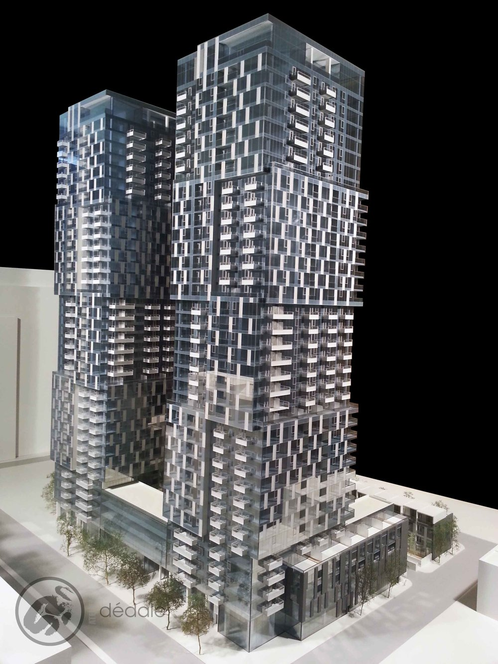 Ptojet YUL maquette architecturale