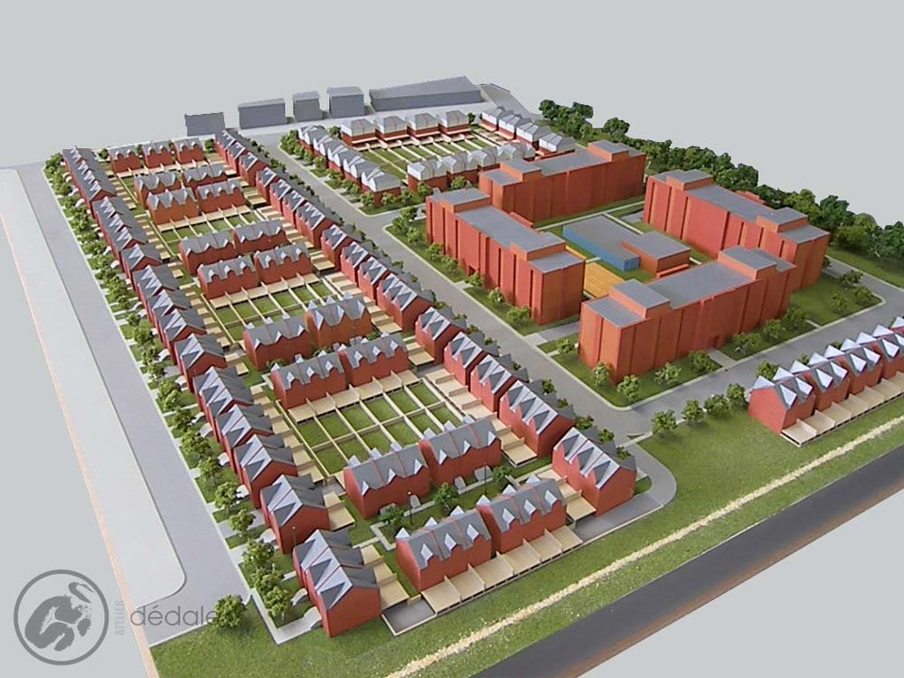 Caryers wood project architectural models