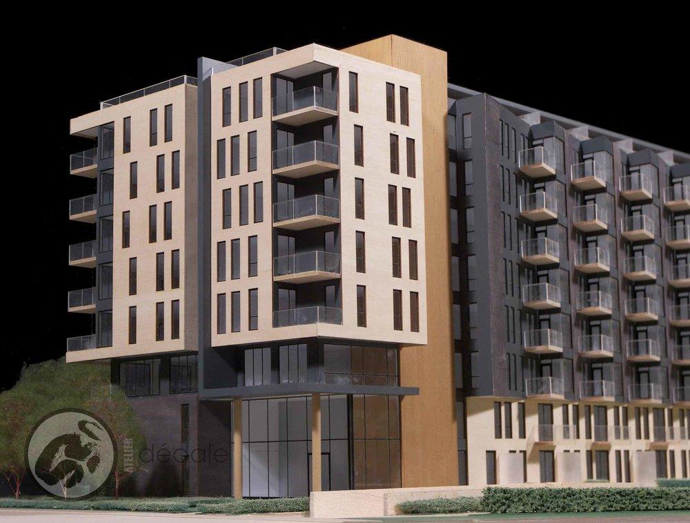 Paréproject architectural models