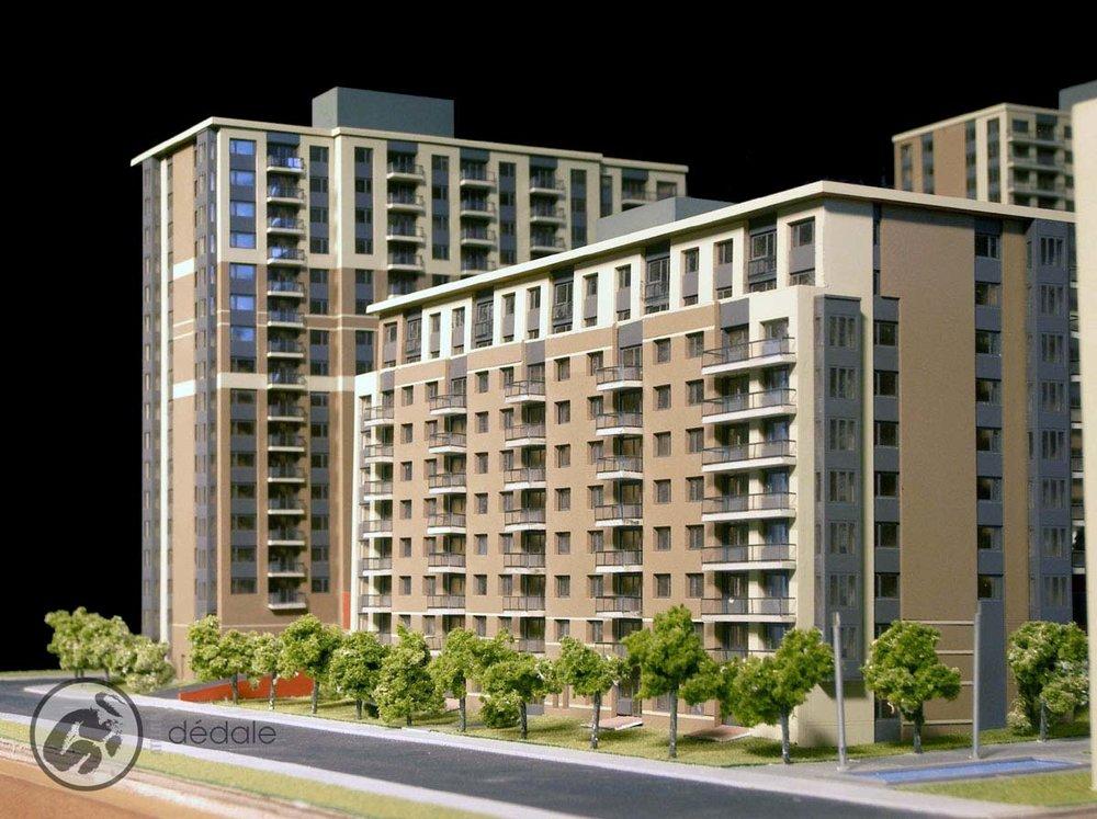 Windsor garden project architectural models