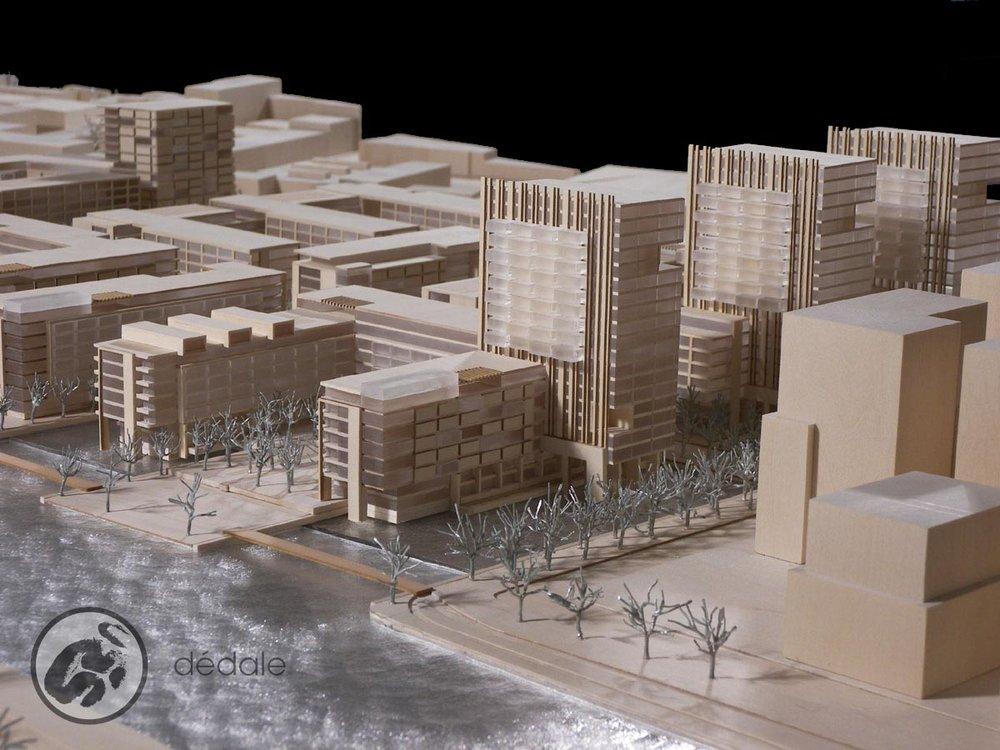 Projet Poste Canada maquette architecturale