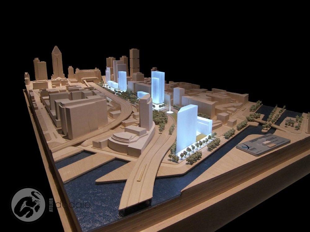 Bonaventure project architectural models