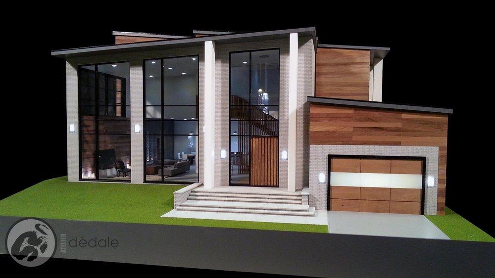 Projet Smartika maquette architecturale