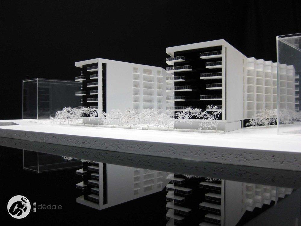 maquette developpement mc Gill models atelier Dédale