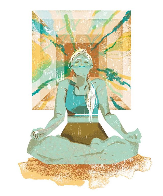 "【ILLUSTRATION | GLOBE AND MAIL】For the article ""Watch my breath? I'd rather count my way through meditation"". 🌬️🌱💭 . . .  #artwork #art #illustration #illust #illo #artist #illustrationage #digital #dailyart #photoshop #adobe #psd #illustree #digitaldrawing #digitalillustration #globeandmail #editorial #newspaper #meditation #meditate #yoga #breathing"
