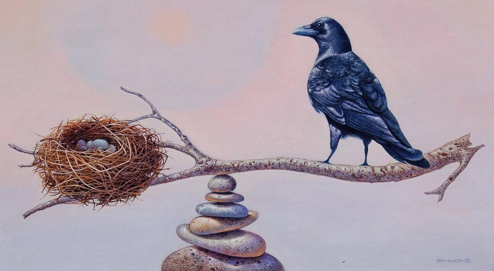 Balancing Act, Canvas, 24x36  $3300