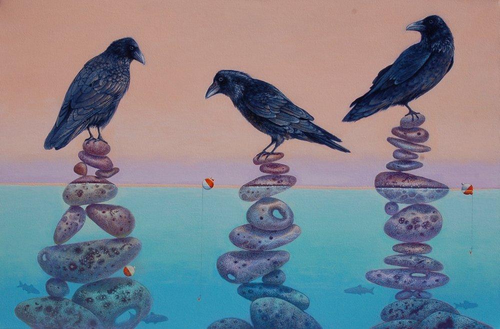 Three Amigos, Canvas, 24x36
