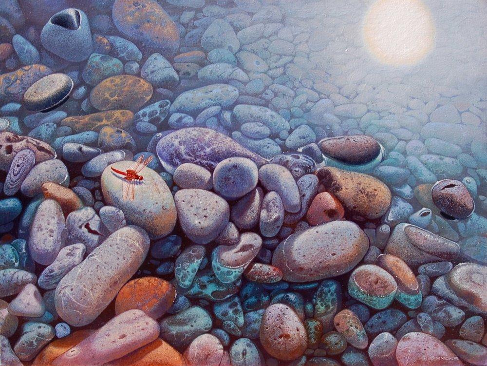 Water Hazard 7, Canvas, 30x40