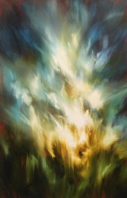 "'Presence'-  30"" x 48"", oil on canvas.  $3,200."