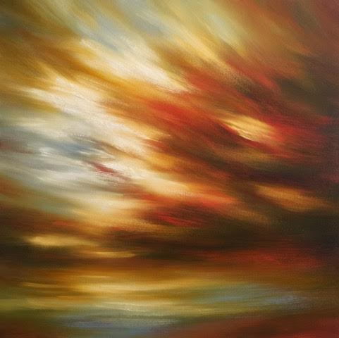 "'Endless Moment'-  36"" x 36"", oil on canvas.  $2,800."